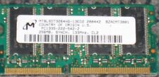 256MB PC133 CL2 16X16 8CHIPS 144PIN SODIMM XEROX PHASER 7300N 7300DN RAM TESTED