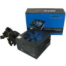 ARTIC BLUE 750W 750 WATT QUAD RAIL ATX PSU 8 PIN PCI-E QUIET POWER SUPPLY