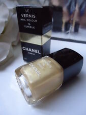76 CURIEUX Silk Satin Pale Gold CHANEL NAIL VARNISH NEW IN BOX RARE 1st RELEASE