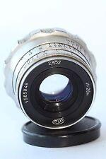 INDUSTAR-26м  2.8/52 cm SILVER Soviet Rangefinder Lens M39 Leica