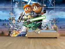 LEGO STAR WARS POSTER MASSIVE HUGE ROOM KIDS SALLE DE JEUX ENFANTS