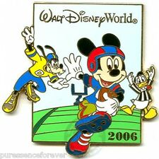 WDW Superbowl 2006: Mickey, Donald & Goofy LE 1500 Pin
