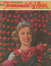 1950 TOURNAMENT OF ROSES PICTORIAL BOOK (34 PAGES, ROSE BOWL SUMMARY, PHOTOS)