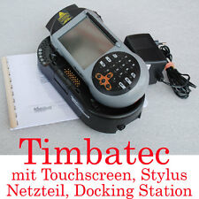 TIMBATEC PDA POCKET PC TOUCHSCREEN DOCKING STATION WINDOWS CE LASERSCANNER TOP!