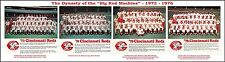 1973 thru 1976 CINCINNATI REDS THE BIG RED MACHINE BASEBALL TEAM PHOTOS POSTER!!