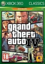 Xbox 360 GTA 4 Grand Theft Auto IV - Classics Edition VG - 1st Class Delivery