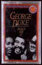 George Duke-Reach For It LP CASSETTE EPIC USA SEALED OOP