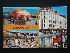 BRIDLINGTON KIDDIES CORNER CRAZY GOLF CHILDREN'S POOL CM #PLC20125 POSTCARD