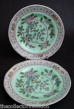 1970's Adams Calyx Ware Singapore Bird Pattern Side or Bread Plates 15.5cm VGC