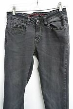 Lee Cooper black-gray wash denim slim-skinny jeans sz 28 length 31'' womens#9749