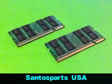 4GB (2GB x 2pcs) Memory RAM for HP DV6000 DV9000 DV2000 DV2500 TX1000 Dell M1210