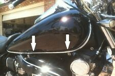 SUZUKI Chrome Edge Trim Kit - Gas Tank / Fenders / Windshield / Saddlebags 10 ft