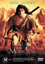 The LAST OF The MOHICANS DVD R4 Daniel Day-Lewis
