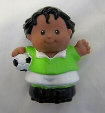 New Fisher Price Little People SOCCER PLAYER Hispanic Boy Team Player 1998