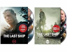 The Last Ship:The Complete Season: 1 & 2 Dvd combo :First Class Shipping:New