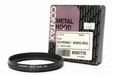 Contax Metal Lens Hood W-1 for 21mm F/2.8 or 28-85mm F/3.3-4.0 Lenses *MINT*