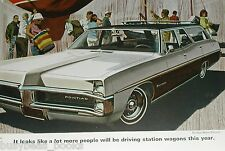 1967 Pontiac advertisement page, Pontiac Executive Safari Wagon