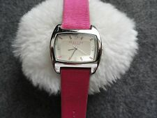Ladies Reaction Quartz Watch with a Leather Band