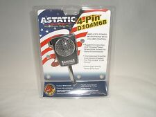 ASTATIC D104M6B 4PIN CB HAM AMPLIFIED CERAMIC POWER HAND MICROPHONE FOR COBRA