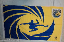 #II1. CENTRAL COAST MARINERS SOCCER FOOTBALL FLAG / BANNER