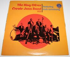 KING OLIVER JAZZ BAND - 1923 [Vinyl LP] USA Import OL 7133 Louis Armstrong *EXC