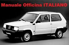 FIAT PANDA Manuale Officina 750 900 1000 1100 1300 4x4 ITALIANO SU CD