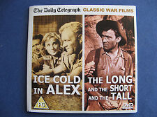 THE TELEGRAPH / 2 CLASSIC WAR FILMS / ICE COLD IN ALEX / THE LONG & SHORT  / DVD