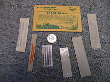 Champ decals HO EH-100 Southern Pacific GP-7 SD-9  J12