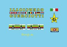 Guerciotti Bicycle Decals-Transfers-Stickers #1