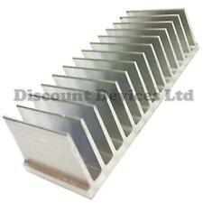 60x165.5x35mm Aluminium Heat Sink Power Amplifier/ Supply/Transistor/IC/FET/PA