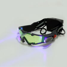 Green Lens Adjustable Elastic Band Night Vision Goggles Glasses eyeshield UL