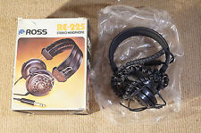 ROSS RE-225 STEREO HEADPHONES BOXED VINTAGE