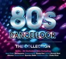 80s Dancefloor: The Collection [Digipak] by Various Artists (CD, Nov-2014, 3...