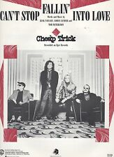 Cheap Trick Can't Stop Fallin' Into Love  US Sheet Music