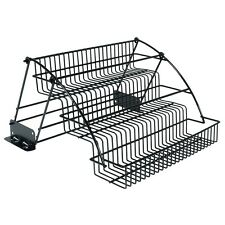 Rubbermaid Pull Down Cabinet Spice Rack Tier Organizer Wire Holder Storage