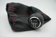 Red Line For VW Golf 3 MK3 92-98/T4 91-04/Vento 92-98 5 Speed Gear Shift Knob