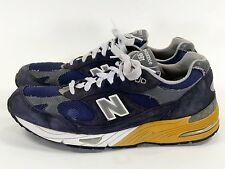 New Balance 991 Men's 11 D Navy Made in USA - suede grey 990 992 993 M991NV