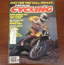 POPULAR CYCLING MAGAZINE APRIL 1977 TRANS AMA MX NATS BULTACO VINTAGE MOTOCROSS