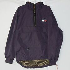 Vintage TOMMY HILFIGER JACKET Pullover Windbreaker M L Medium Large