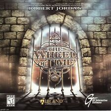 THE WHEEL OF TIME (LARGE BOX FORMAT) (1996) PC CD-ROM NEW & SEALED READ AUCTION