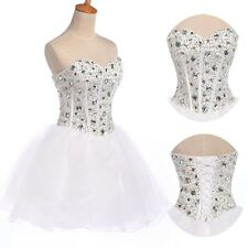 Newly~SWEET Beaded Short Mini Party Dress Homecoming Prom Party Graduation Dress