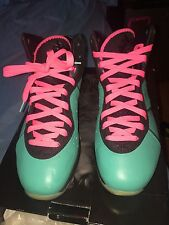 2010 NIKE AIR LEBRON 8 VIII SOUTH BEACH 417098 401 PREHEAT 100%AUTHENTIC SIZE 13