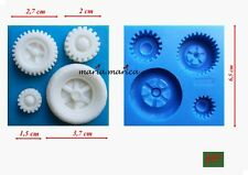 silicone mold (137) wheels for vehicles mould mold cake fondant sugarcraft