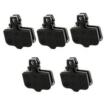 New 5 Pairs Bicycle Disc Brake Pads Fit For Avid Elixir E1/3/5/7/Er/Cr Xo Black
