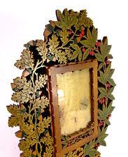 toller Jugendstil Rahmen / Fotorahmen - Art Nouveau - Holz Sägearbeit ( Nr.9 )