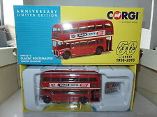 Corgi OOC OM46310 1/76 OO AEC Routemaster Bus London Transport 60 Years of Corgi
