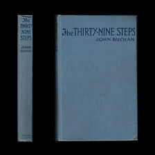 1916 John Buchan THE THIRTY-NINE STEPS  Richard Hannay GERMAN SECRET SERVICE Spy