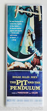 The Pit and the Pendulum FRIDGE MAGNET (1.5 x 4.5 inches) insert movie poster