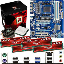 AMD X8 Core FX-8320 3.5Ghz & GIGABYTE 970A-DS3 & 16GB DDR3 1600 Viper Venom Red