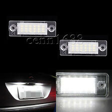 FOR VW Touran CANDDY Plus Skoda Jetta Passat T5 LED License Number Plate Light